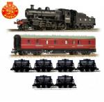 Osborns N Scale LMS Milk Train
